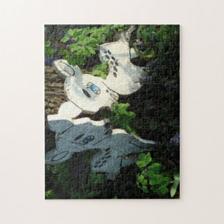 Retro Forest Friends Jigsaw Puzzles