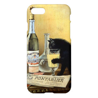 """Retro french """"absinthe bourgeois"""" iPhone 7 case"""