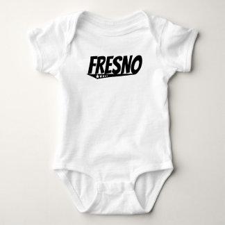 Retro Fresno Logo Baby Bodysuit