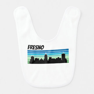 Retro Fresno Skyline Bibs