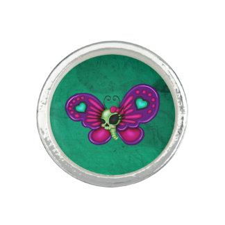 Retro Fun Zombie Butterfly