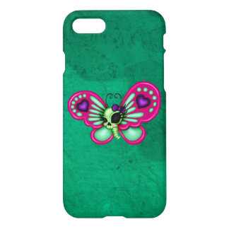 Retro Fun Zombie Butterfly iPhone 7 Case