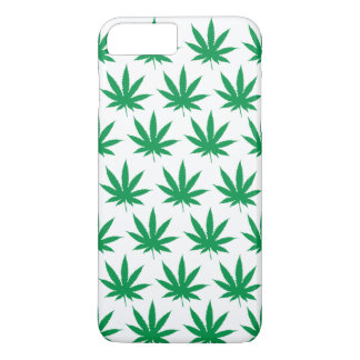 Retro Funny Pot Leaf Pattern iPhone 7 Plus Case