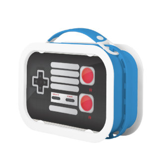Retro Game Lunch Box