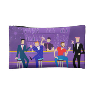 Retro Gay Bar Cosmetic Bag