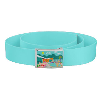 Retro Gay Pool Party Belt
