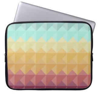 Retro Geometric Art Laptop Sleeve