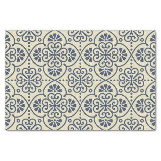 Retro geometric floral ornamental pattern tissue paper