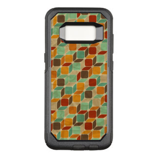 Retro geometric pattern 4 OtterBox commuter samsung galaxy s8 case