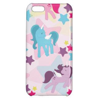 Retro Girly Ponies iPhone 5C Cases