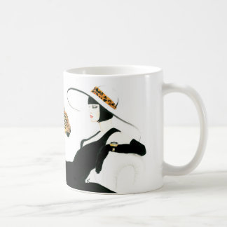 Retro Glam Art Deco coffee mug