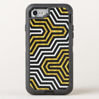 Retro Glam Geometry Pattern Apple iPhone 6/6s OtterBox Defender iPhone 7 Case
