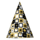 Retro Glamourous Gold Party Hat