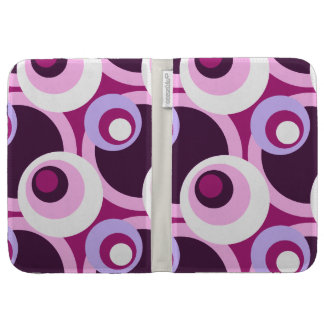 Retro Golden Sixties style circles Kindle Cover