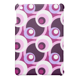 Retro Golden Sixties style circles Cover For The iPad Mini