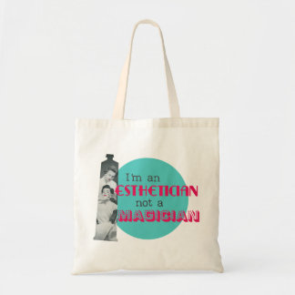 Retro Graphic Esthetician Tote Bag