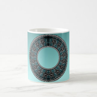 Retro Greek Disc Coffee Mug