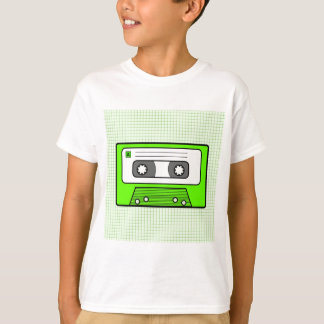 "Retro Green 80""s Mixtape T-Shirt"