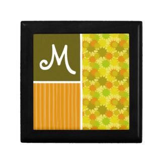 Retro Green & Orange Gift Boxes
