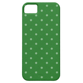 retro green polka dot case for the iPhone 5