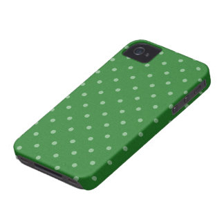 retro green polka dot iPhone 4 Case-Mate case