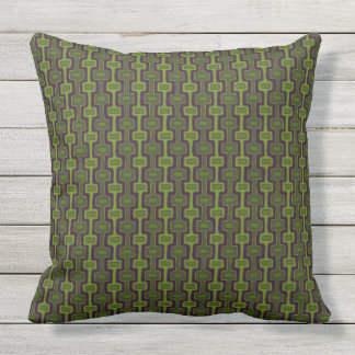 Retro GreenBerry 2 Side Patio Outdoor Cushion