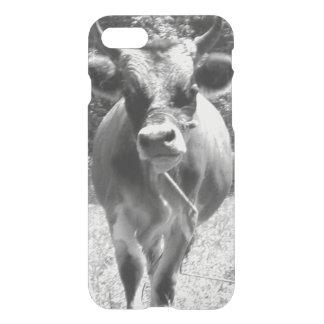 Retro Grey Bull Photo iPhone 7 Case