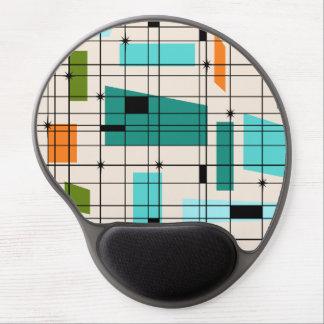 Retro Grid & Starbursts Gel Mousepad