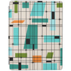 Retro Grid & Starbursts iPad Cover