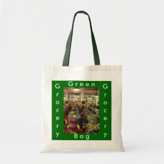Retro Grocery Store Coupon Clipper's Gifts Gift Budget Tote Bag