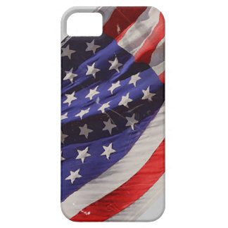 Retro Grunge Flying Flag of America iPhone 5 Cover