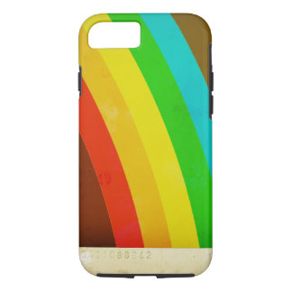Retro Grunge Rainbow iPhone 8/7 Case