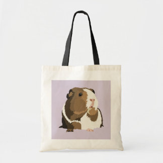 Retro Guinea Pig 'Betty' Shopping Bag
