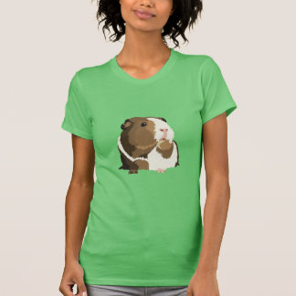 Retro Guinea Pig 'Betty' Women's T-Shirt