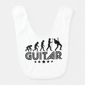 Retro Guitar Evolution Bib