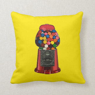 Retro Gumball Machine Cushion