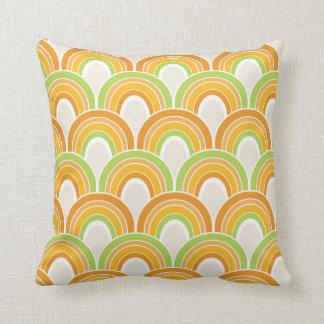 Retro Half Circle Pattern Pillow Throw Cushions