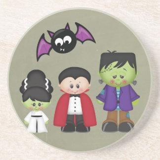 Retro Halloween Coasters