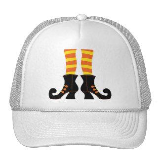 Retro Halloween Witch Trucker Hat