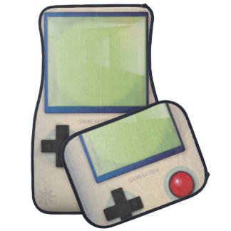 Retro Handheld Video Game Car Mat