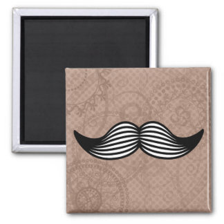 Retro Handlebar Mustache Magnets