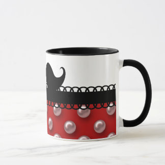 Retro Handlebar Mustache Moustache Mug