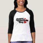 Retro Happy Valentines Day T-shirt