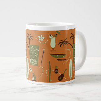Retro Hawaiian Coffee Mug - Vintage Hawaii Cup
