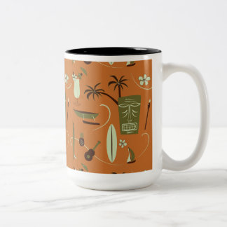 Retro Hawaiian Mug - Vintage Hawaiian