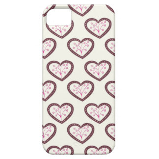 Retro Hearts iPhone 5 Covers