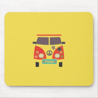 Retro Hippie Bus Mousepad