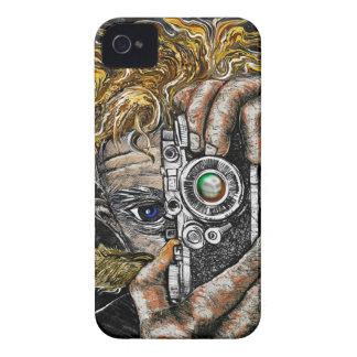 Retro Hipster Selfie iPhone 4 Case-Mate Cases