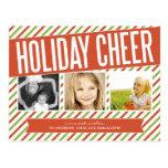RETRO HOLIDAY CHEER | HOLIDAY PHOTO CARD POST CARDS