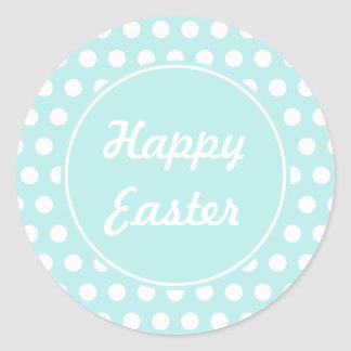 Retro Holiday Happy Easter Stickers